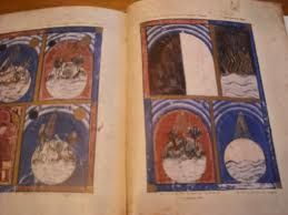 Scenes of Creation, The 14th Century book, known as the Sarajevo Haggadah