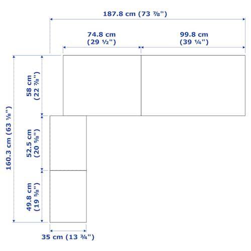Mobilier Et Decoration Interieur Et Exterieur Armoire D Angle Penderie D Angle Ikea Pax
