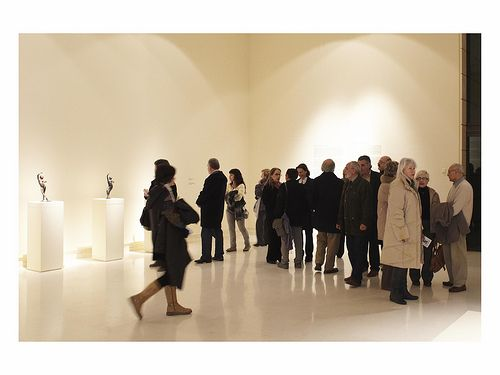 The Instituto Valenciano de Arte Moderno, Valencia, Spain | Exhibition interior