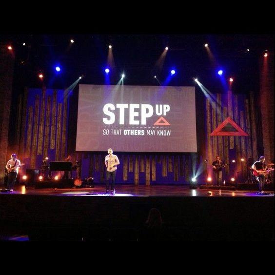 Long Stripes | Church Stage Design Ideas - Picmia