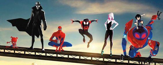 Phim người nhện : vũ trụ mới 2018