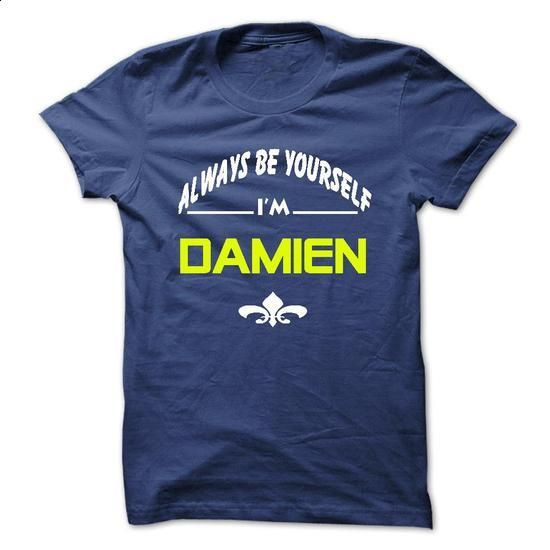 Why always me DAMIEN - #band shirt #shirt pillow. I WANT THIS => https://www.sunfrog.com/Names/Why-always-me-DAMIEN.html?68278
