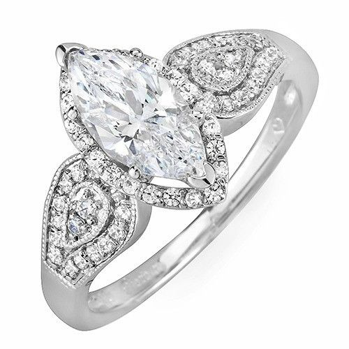 For marquise diamond marquise diamond engagement ring setting