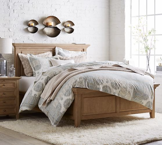 Hudson Bed Wooden Beds In 2021 Bed Linens Luxury Bedding Master Bedroom Paisley Bedding