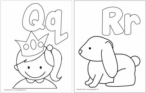 Free Printable Alphabet Coloring Pages With Images Alphabet