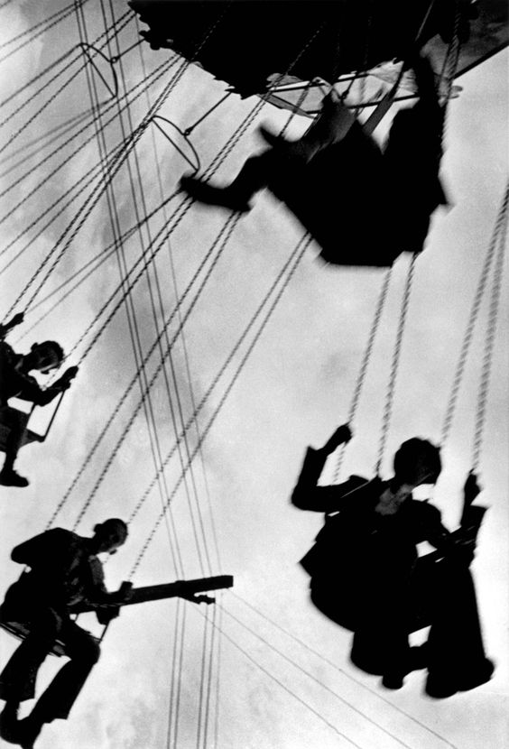 In the annual Easter fair, Sevilla, April 1935(?) by Robert Capa