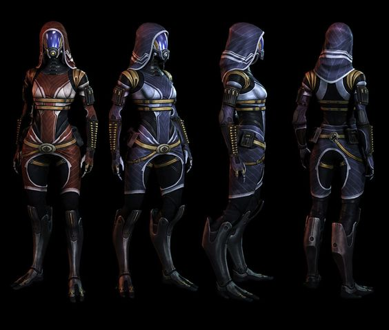 Quarian Without Armor