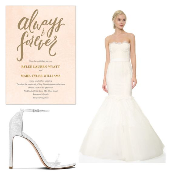 """""""Wedding Day"""" by calliefashion11 on Polyvore featuring Marchesa"""