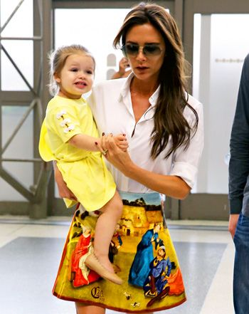 Victoria and Harper Beckham's Cutest Mother-Daughter Fashion Moments