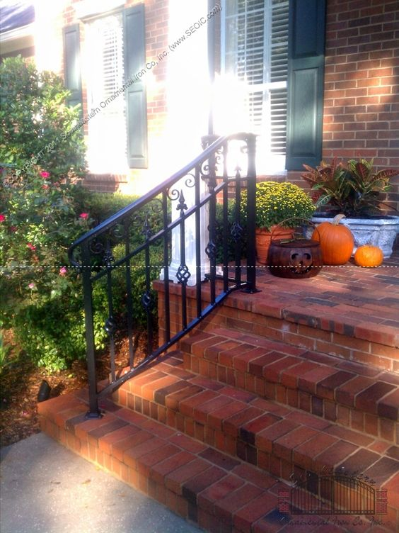 Best Front Step Stair Railings Exterior Style Pinterest 400 x 300
