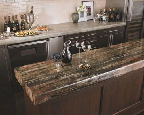 Countertops Petrified Wood Countertop Ideas Beautiful Wood
