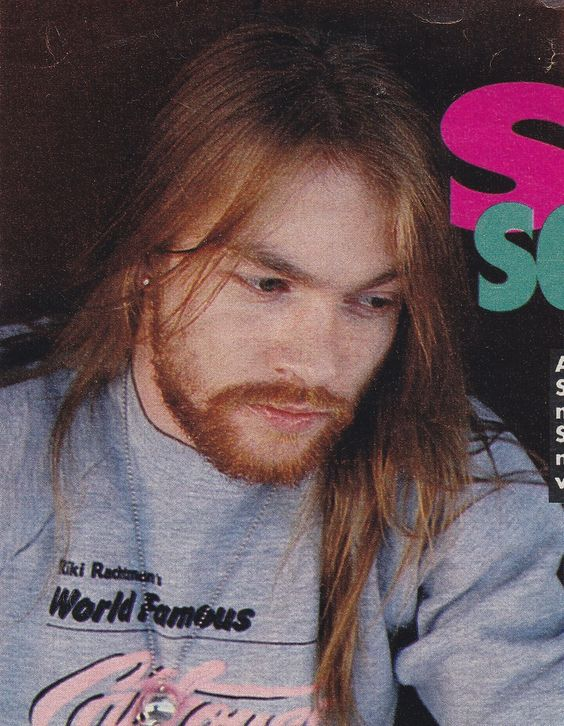 Excellent Axl Rose Of Guns N Roses Late 80S Musica Pinterest Guns Hairstyle Inspiration Daily Dogsangcom