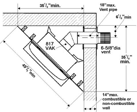 Pinterest the world s catalog of ideas for Fireplace dimensions plan