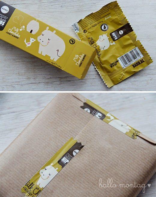 Neues Leben für süße Süßigkeitenverpackung / New life for sweet candywrapper / Upcycling