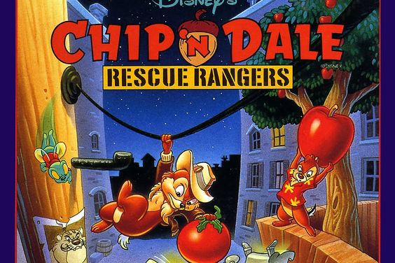 Gameplay Retrô - Chip 'n Dale: Rescue Rangers (NES)