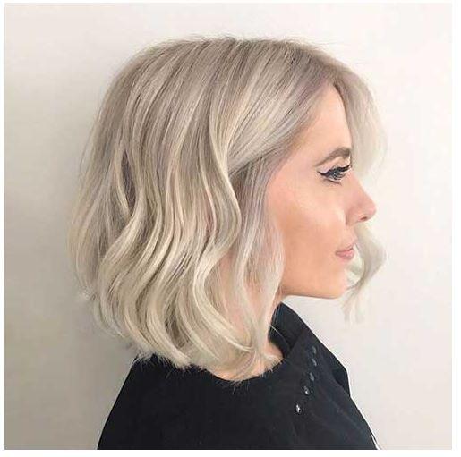 Damen Frisuren Bob Blond