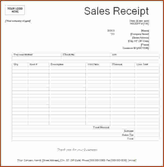 Awesome 8 Printable Receipts Bookletemplate Receipt Template Free Receipt Template Templates