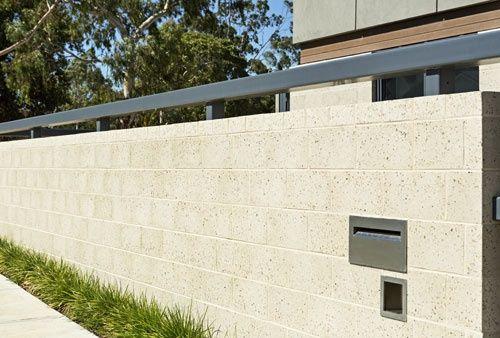 Honed Block Garden Walls Masonry Blocks Concrete Block Walls Concrete Blocks