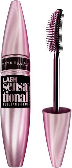 Maybelline Lash Sensational Mascara Ulta or Walmart. Blackest black. Not waterproof: