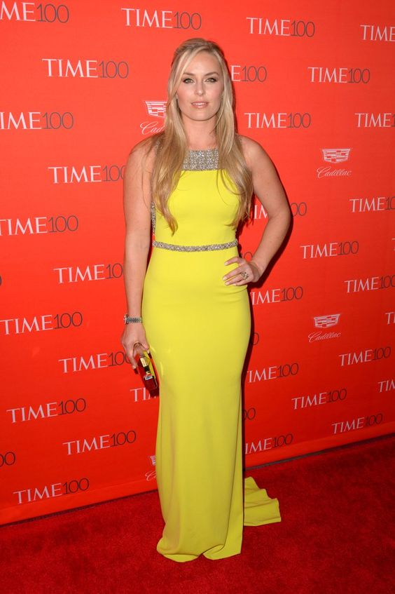 Pin for Later: Le Time Magazine Rend Hommage aux 100 Personnes les Plus Influentes du Monde Lindsey Vonn