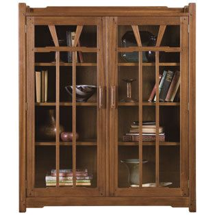 Gamble House Bookcase by Stickley Furniture Company...did you know they are still making furniture here in the USA? They are now own and operated by Audi!