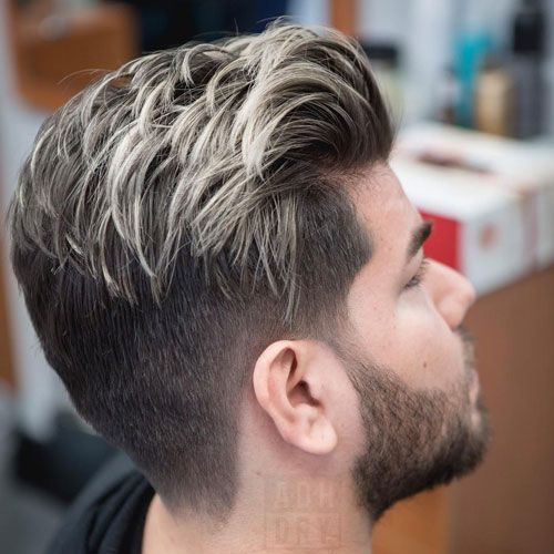 23 Best Men S Hair Highlights 2020 Styles Dark Hair With Highlights Men Hair Highlights Men Hair Color Highlights