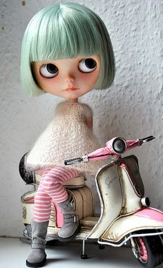 stunning customised blythe doll - Google Search: