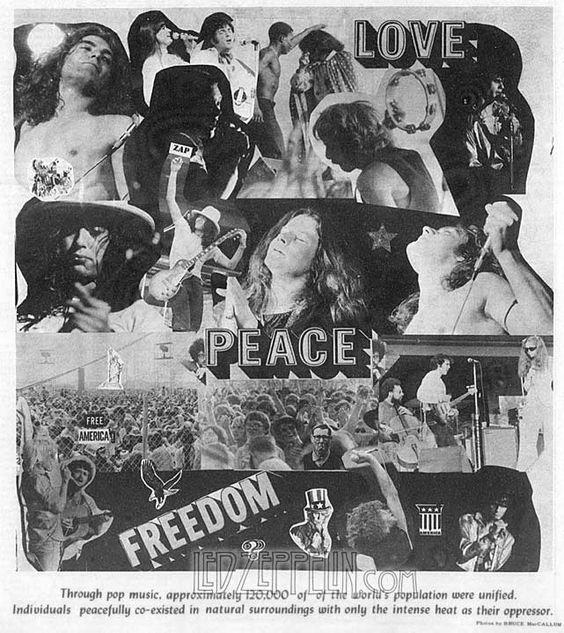Atlanta Pop Festival 1969 - press