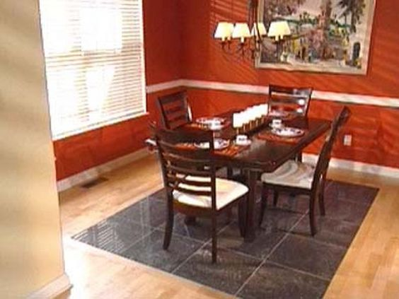 Laminate Floor Inlays : Hardwood floors with tile inlay how to install