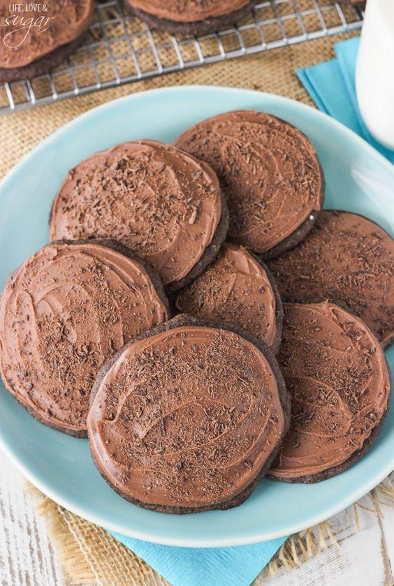 Tasty chocolate cookies recipe