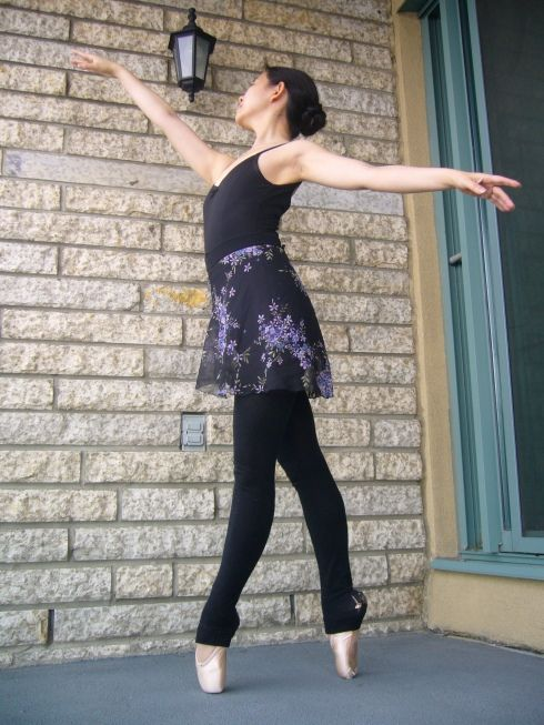 Free pattern: Ballet skirt forgrownups