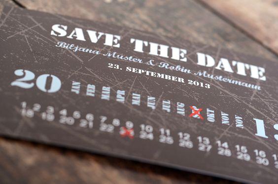 Karte: save the date