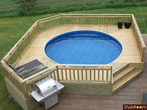 pool för mindre trädgård - Sök på Google | pool | Pinterest | Piscine