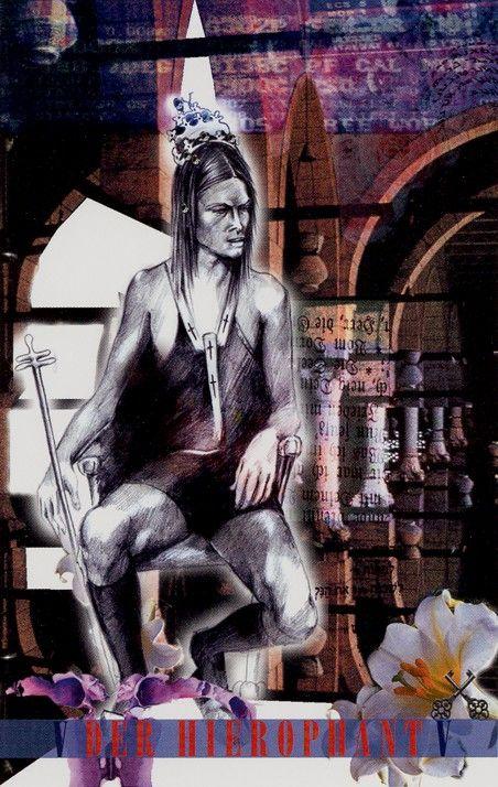 V. The Hierophant - Roni Tarot by Ronit Hartmann