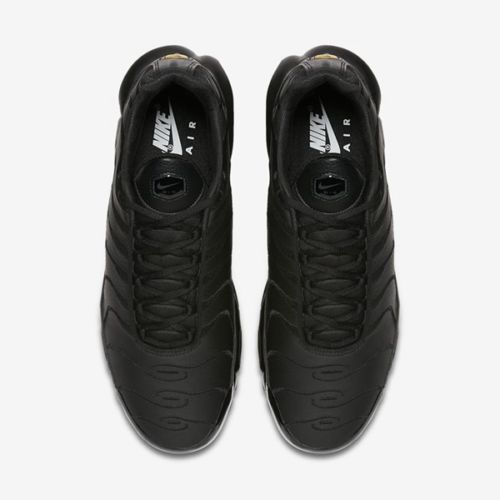 Details about Nike Air Max Plus TN 'Triple Black' Leather