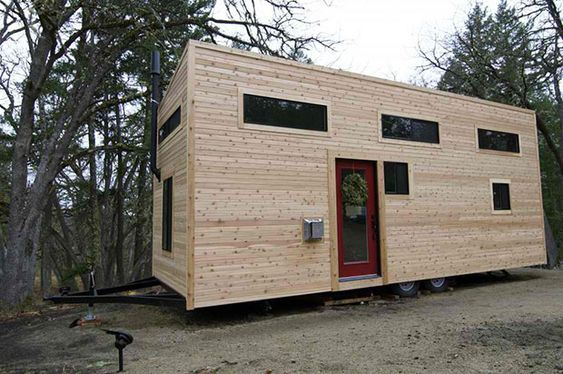 This Rectangular Form on Wheels is A House. And You Can Normally Live In It. Amazingly Brilliant!