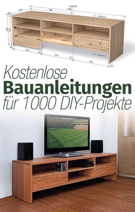 33+ Tv staender selber bauen Sammlung