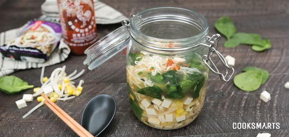 Take-to-Work Mason Jar Ramen – Cook Smarts