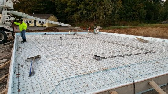 I M A Concrete Contractor That Will Tell You What A Concrete Slab Will Cost These Are My Actual Prices Concrete Slab Concrete Slab Foundation Slab Foundation