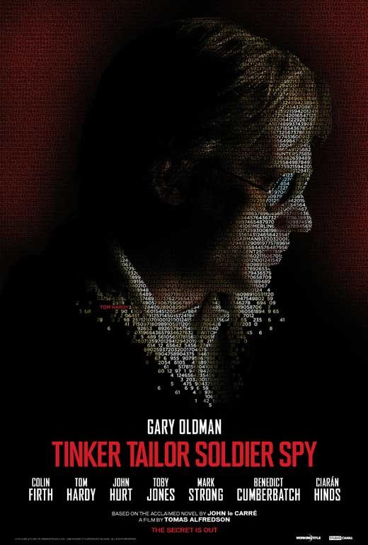 Tinker, Tailor, Soldier, Spy 27x40 Movie Poster (2011)