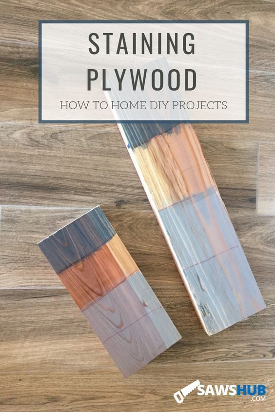 How To Select Stain And Finish Plywood Finished Plywood Simple Woodworking Plans Woodworking Jigs
