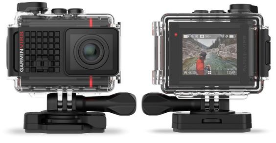 """The new Virb Ultra 30 packs the goods to record at 4k and allows the user to control its functions through voice commands. Just say """"Okay Garmin"""" to have the camera start or stop recording or mark important events. The Virb Ultra 30 is now available and retails for $500 — the same price as the 2-year old GoPro Hero 4 Black."""