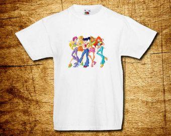 Winx Funny Kids Boys Girls T-shirts