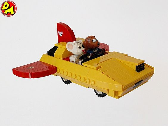 Danger Mouse's Flying Car