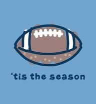 If summer has to come to an end, then I am ready for football season to start. Love football season!