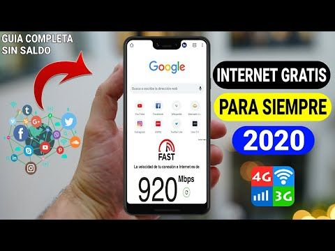 Por Fin Como Tener Internet Totalmente Gratis En Cualquier Compañia Y País 3g Y 4g 2020 Youtub En 2020 Como Tener Internet Trucos Para Celulares Videos De Internet