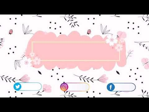 Cute Intro Background No Text No Copyright Youtube In 2021 Youtube Banner Backgrounds Youtube Banner Design First Youtube Video Ideas
