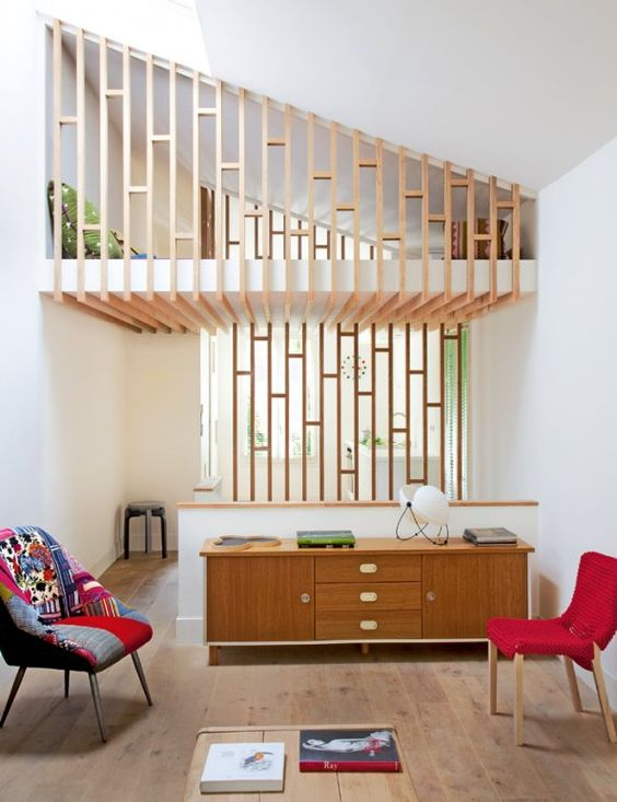 the owner of this house virginie asked three young chilean architects to transform her banal. Black Bedroom Furniture Sets. Home Design Ideas