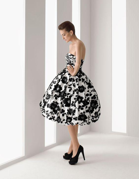 Style strapless dress pattern