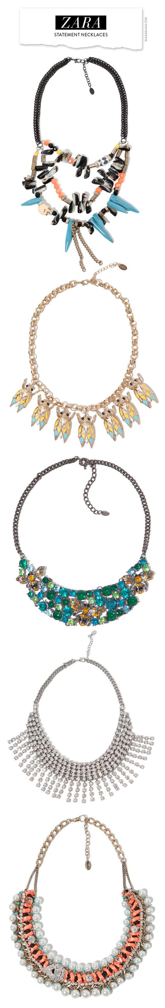 Zara Statement Necklaces